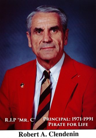 Longtime Principal Mr. Clendenin Passes