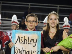 Lady Pirates Crowned- Homecoming 2012