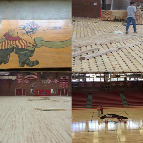 After 57 Years, A New Gym Floor Has Been Built