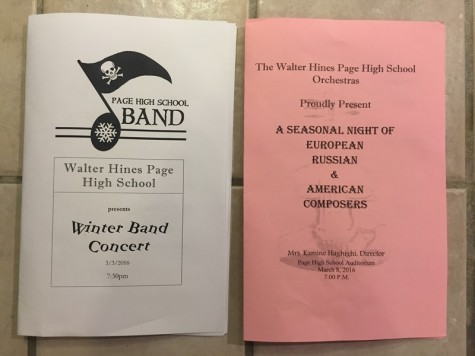 Band and Orchestra Spring Concerts
