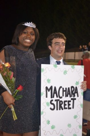 Street wins Homecoming Queen; Kiser voted Pirate Queen