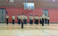 JROTC Performs Well At Annual Inspection