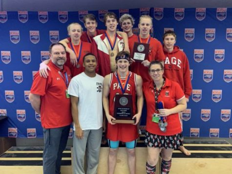 Men Swimmers Take Home Second Place Title