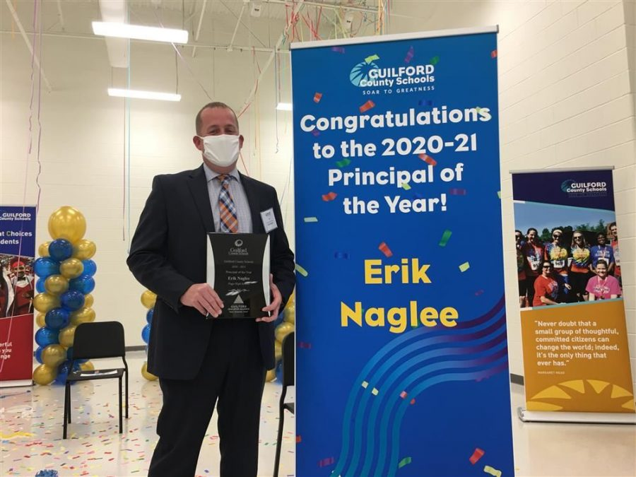Mr. Naglee Becomes Third Page Principal to Win GCS Principal of the Year