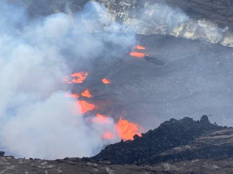 Robertson's Reportings: Volcanic Eruption, New Spending Bill